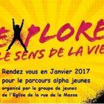 Parcours Alpha Jeunes 4 Mars 2017