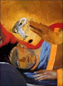 Mat_01,18_21_Arcabas_Le songe de Joseph La Galerie d'art Les trésors de l'art religieux ARCABAS Nouveau regard sur l'art sacré ARCABAS/Le songe de Joseph
