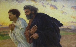 Pierre et Jean au tombeau