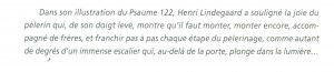 commentaire psaume 122